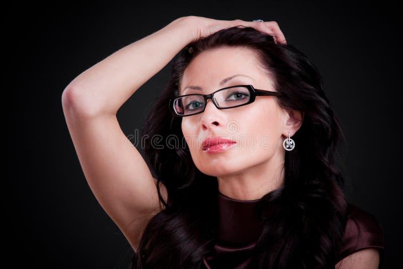 piękna brunetka obrazy stock
