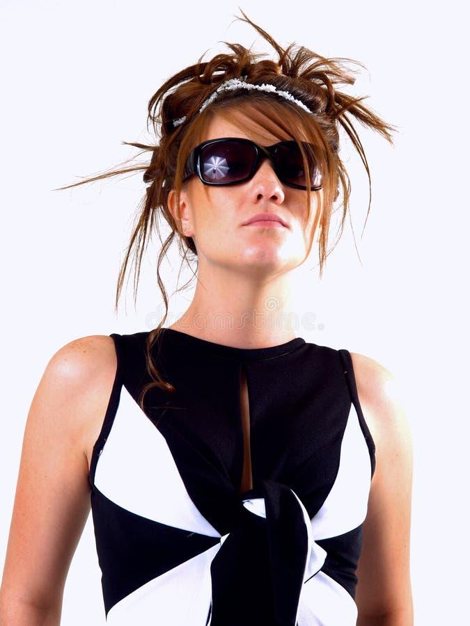 piękna brunetka nastoletnia fotografia royalty free