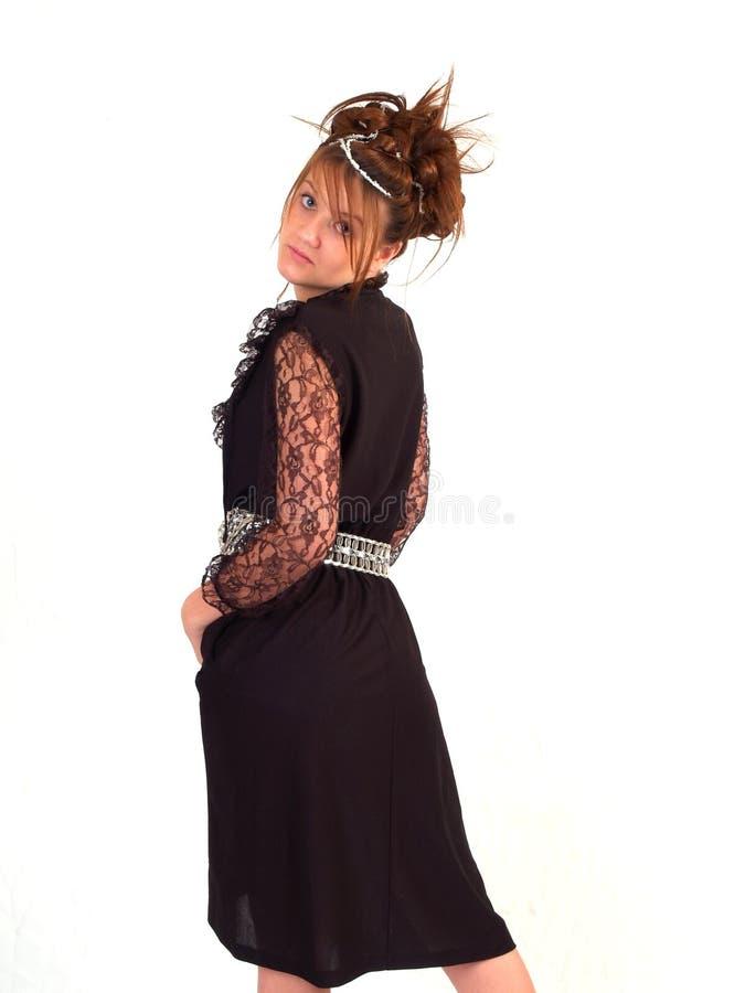 piękna brunetka nastoletnia fotografia stock