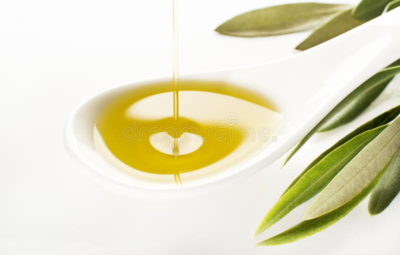 piękna butelka ubierać nafciane oliwne pikantność obraz royalty free