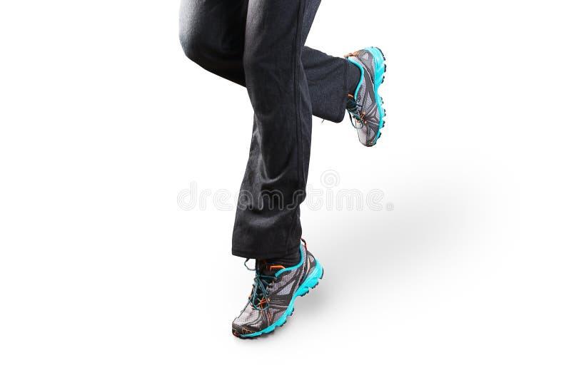 piękna chińska kobieta mieszał biegowego biegacza bieg śladu wulkanu kobiety zdjęcia royalty free