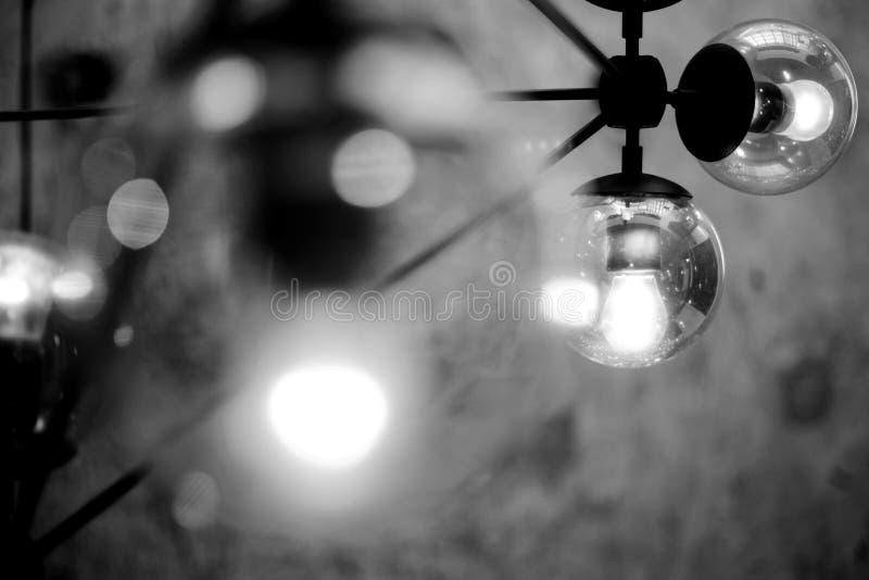 Piękna czarny i biały lekka fotografia obraz royalty free