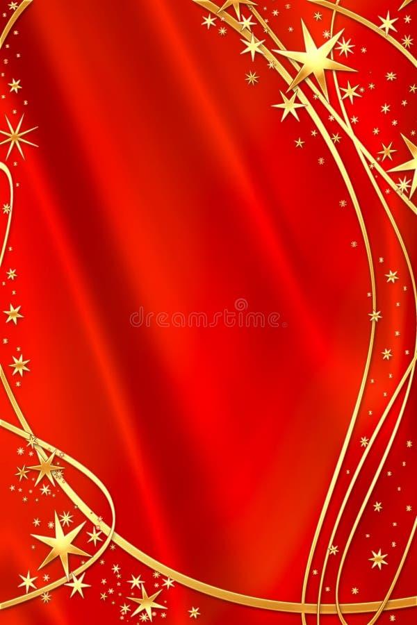 piękna czerwone tło ilustracji