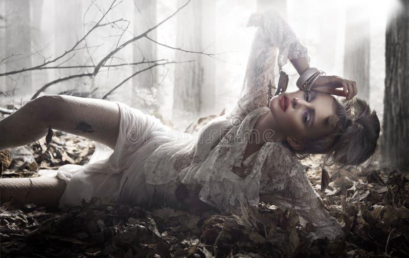 piękna dama fotografia royalty free