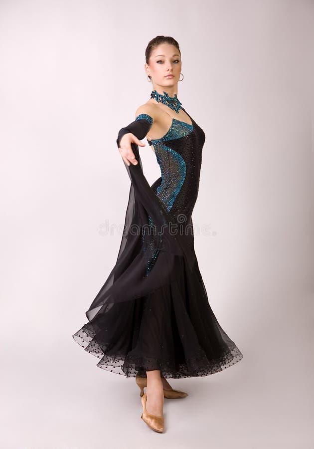 piękna dancingowa dziewczyna obrazy royalty free