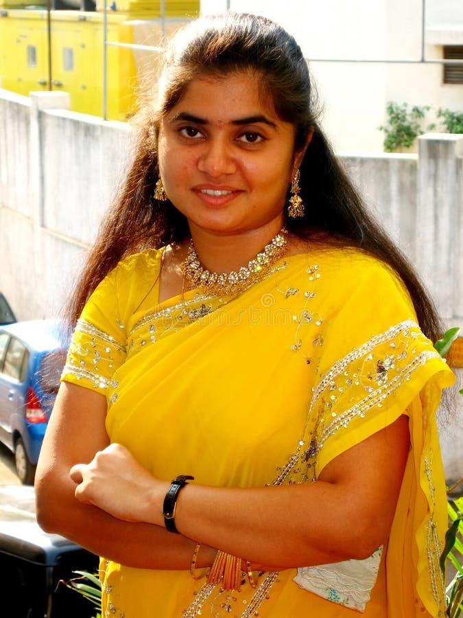 piękna dziewczyna hindusi fotografia stock