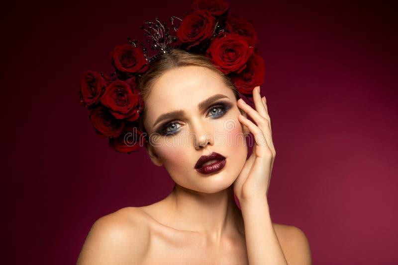 piękna dziewczyna hiszpański styl zdjęcia stock