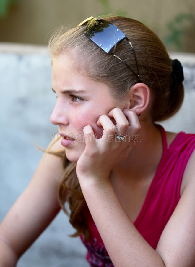 piękna dziewczyna nastolatka obrazy royalty free