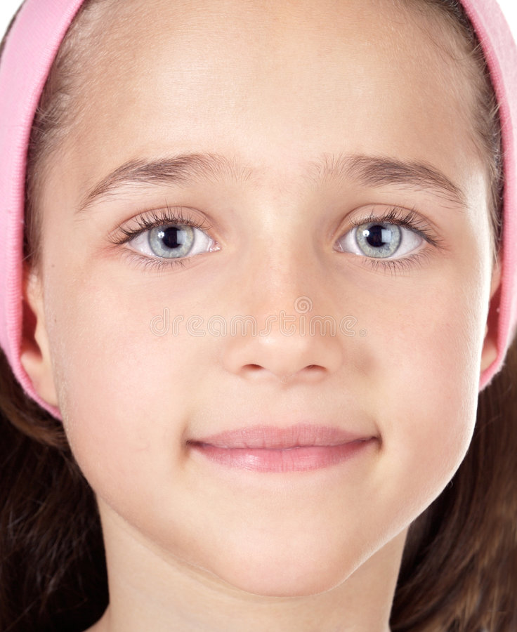 piękna dziewczyna portret zdjęcia stock