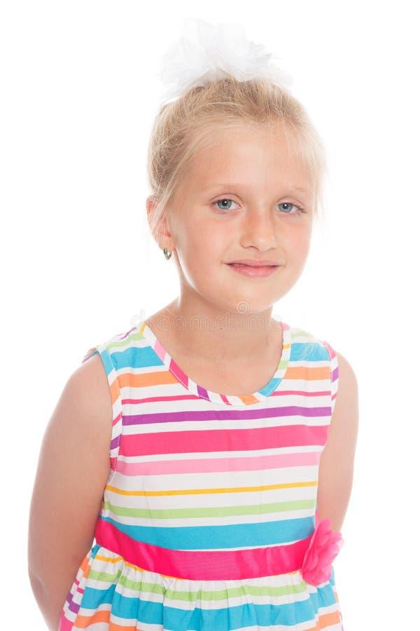 piękna dziewczyna portret uśmiecha się zdjęcia stock
