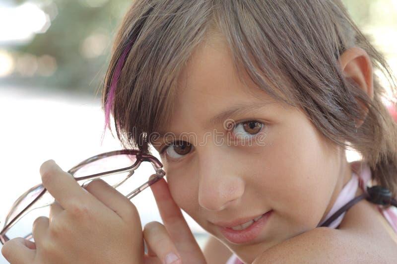 piękna dziewczyna trochę fotografia royalty free