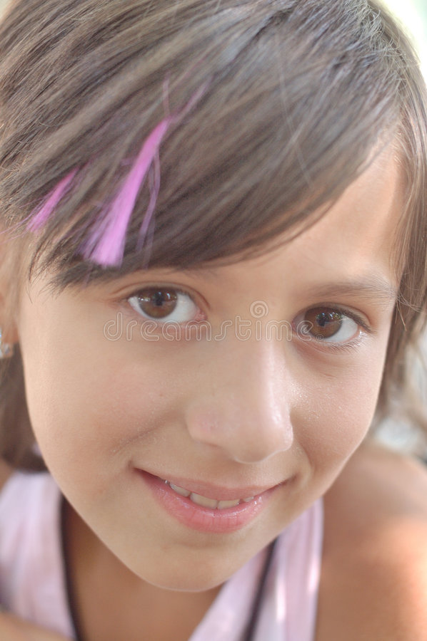 piękna dziewczyna trochę obraz stock