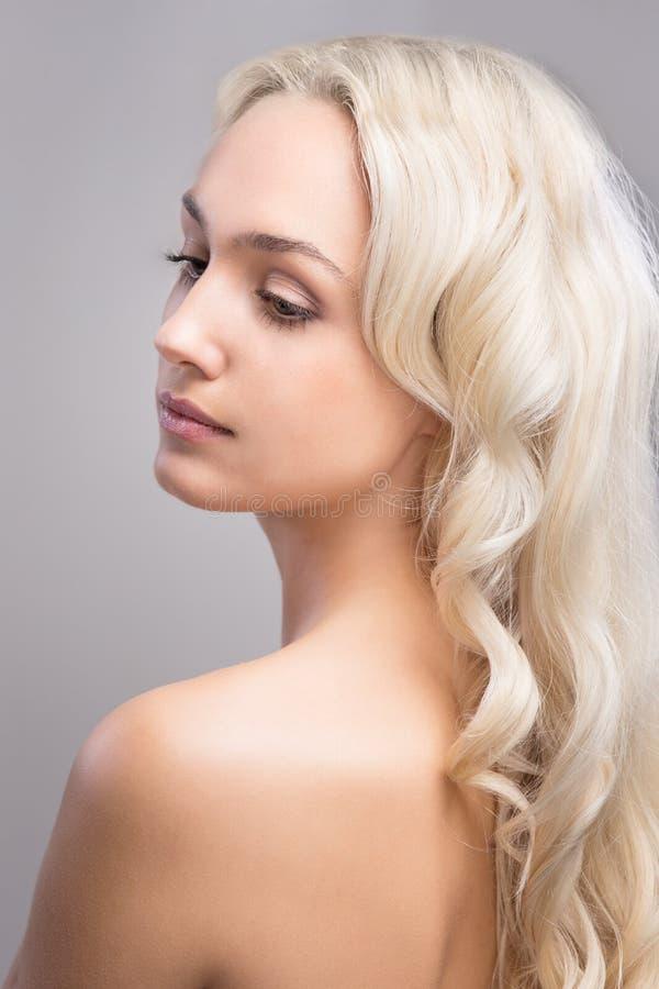 Piękna dziewczyny twarz zdjęcie royalty free
