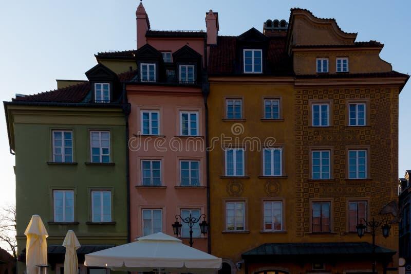 Piękna europejska architektura fotografia royalty free