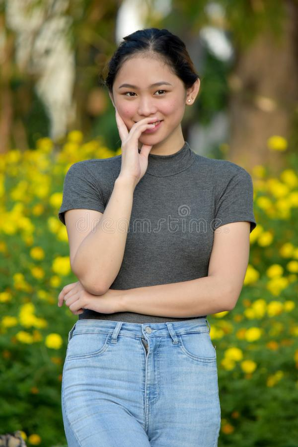 Piękna filipinka kobiety kobieta obrazy stock