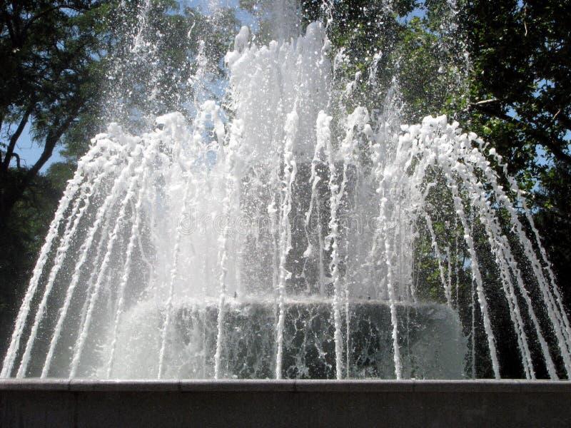 piękna fontanna obraz royalty free