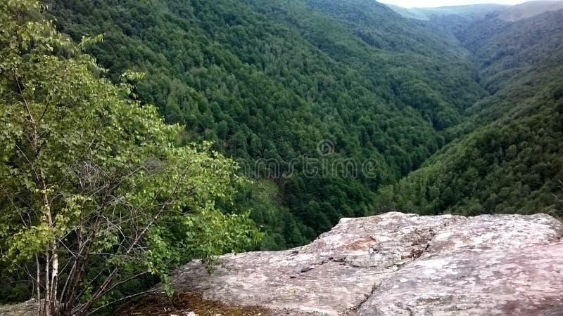 Piękna góra obrazy royalty free
