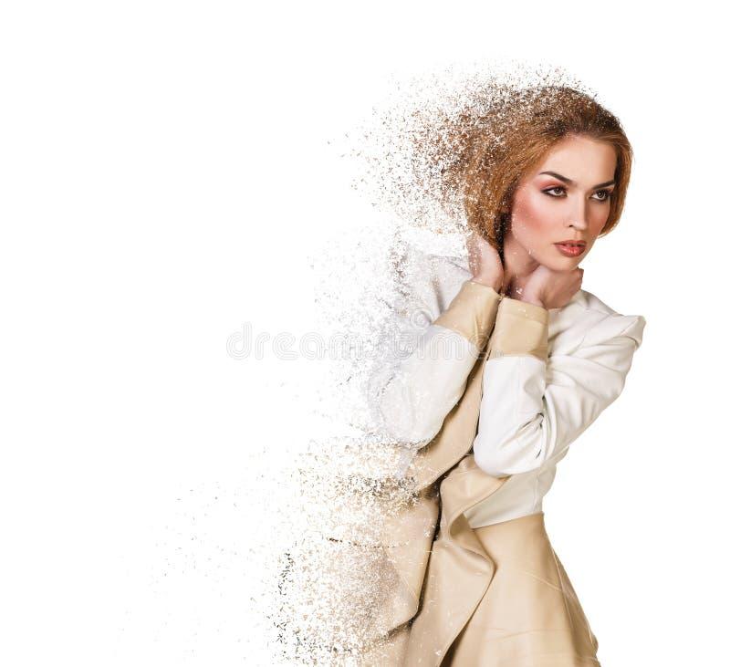 Piękna gruz kobieta zdjęcia royalty free