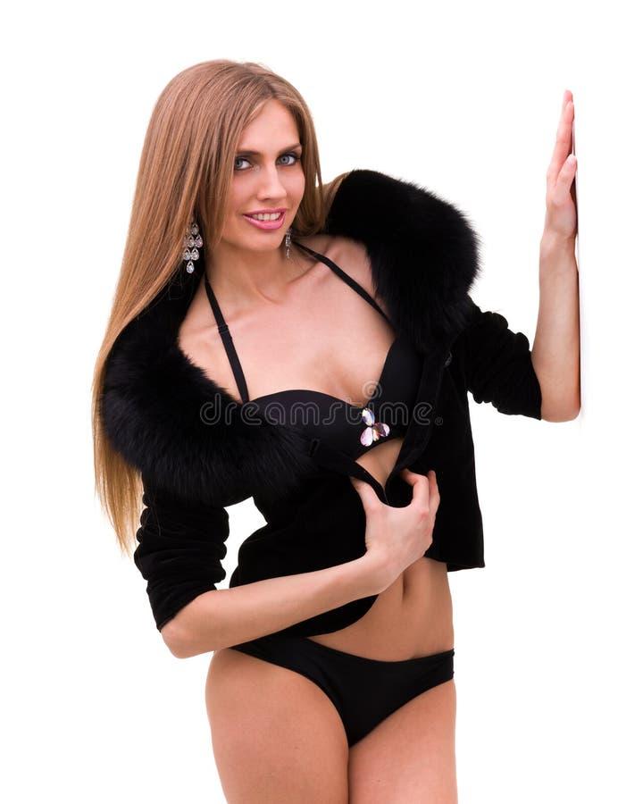 Piękna i seksowna kobieta zdjęcie stock