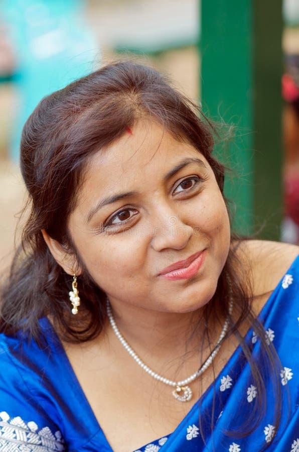 piękna indyjska kobieta fotografia royalty free