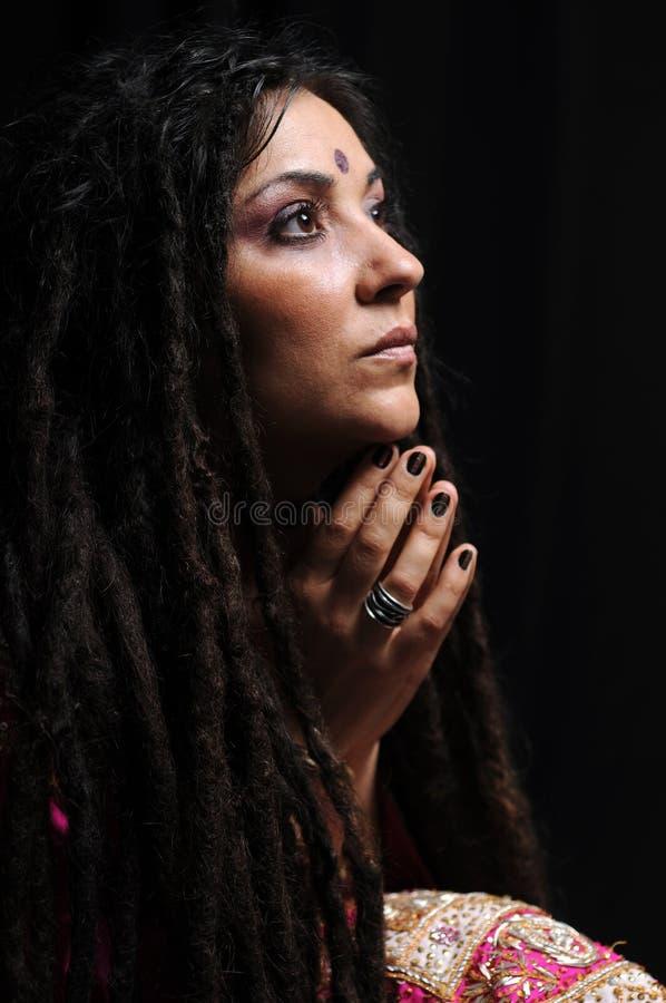 piękna indyjska kobieta obrazy royalty free