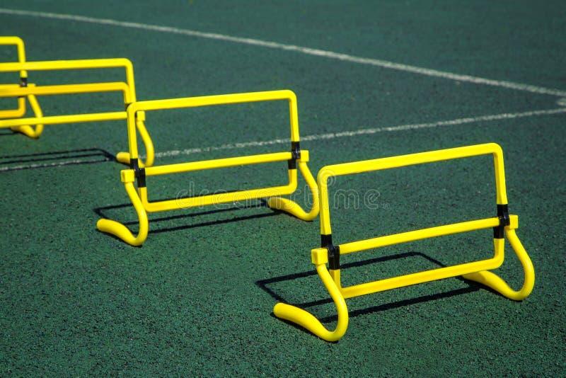 Piękna jaskrawa sport przekładnia dla ćwiczyć twój h i ulepszać obraz stock