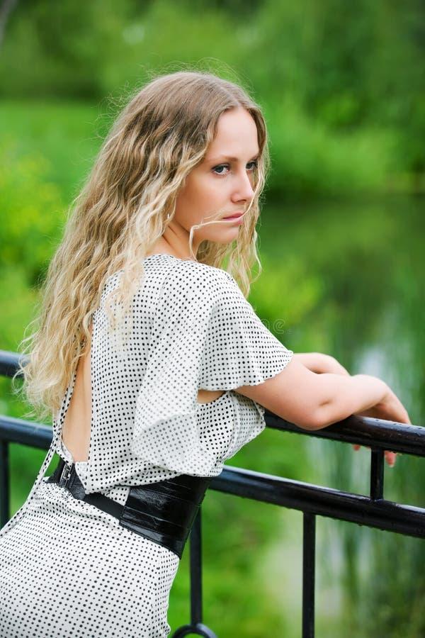 piękna jeziorna kobieta zdjęcia royalty free