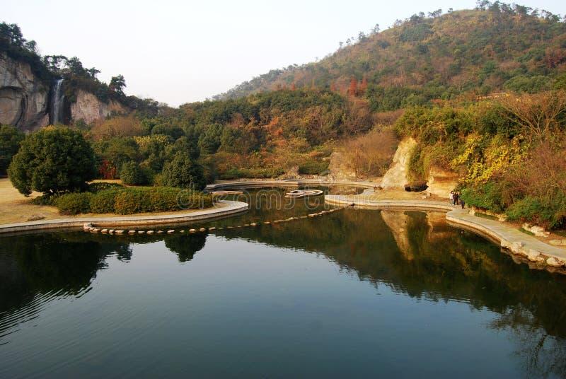 piękna jezioro zdjęcia royalty free