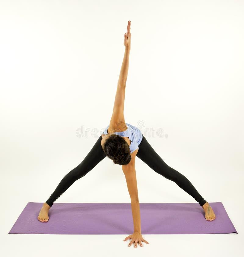 Piękna joga kobieta obraz stock