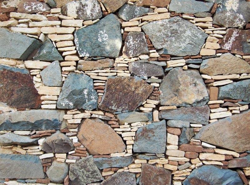 Piękna kamienna mozaika obraz royalty free
