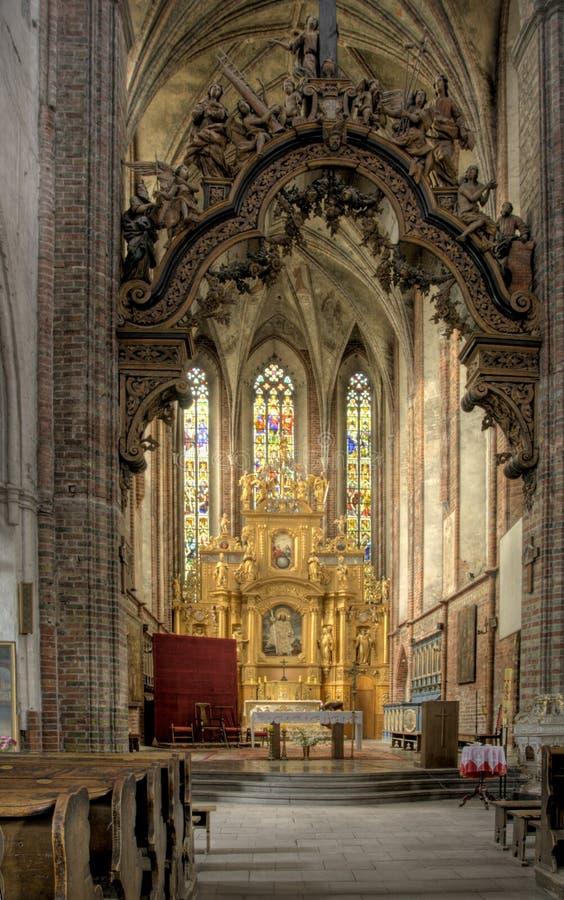 Piękna kościelna architektura obrazy stock