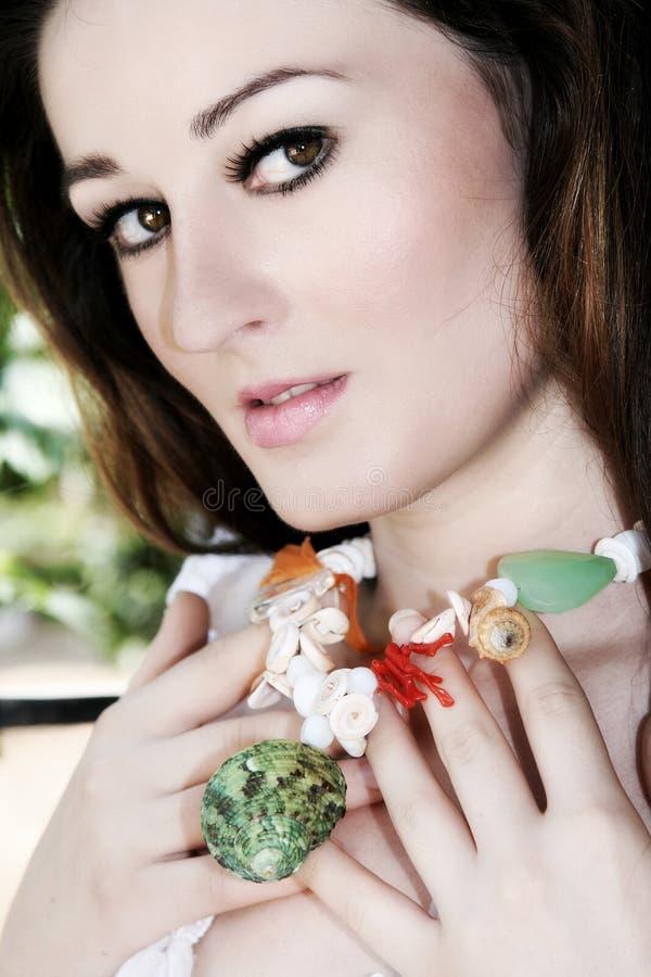 piękna kobieta fotografia stock