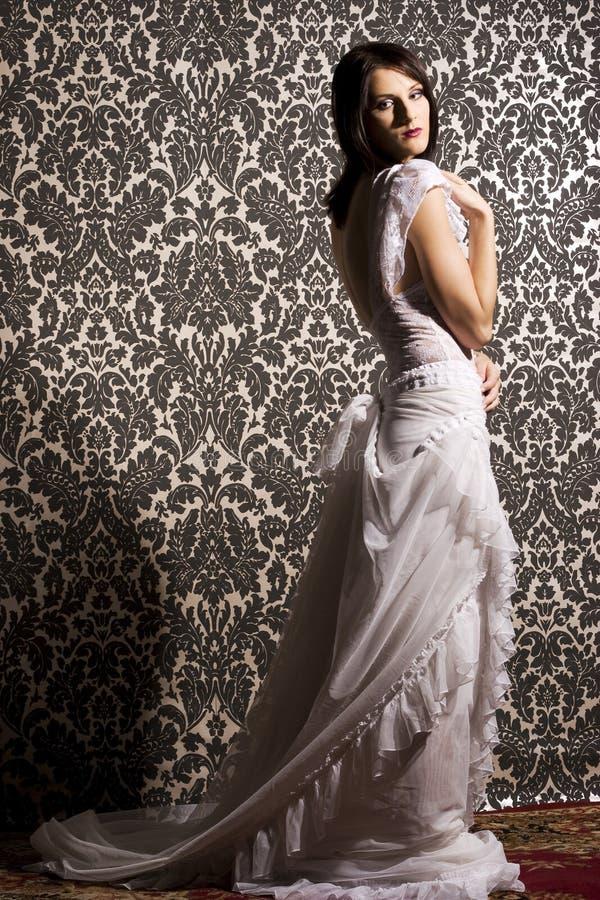 piękna kobieta brunetki obraz royalty free