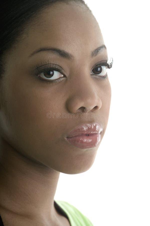 piękna kobieta cerę obraz stock