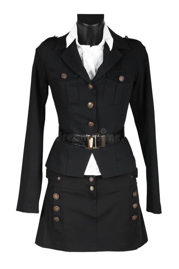 piękna kobieta mundurek. zdjęcia royalty free