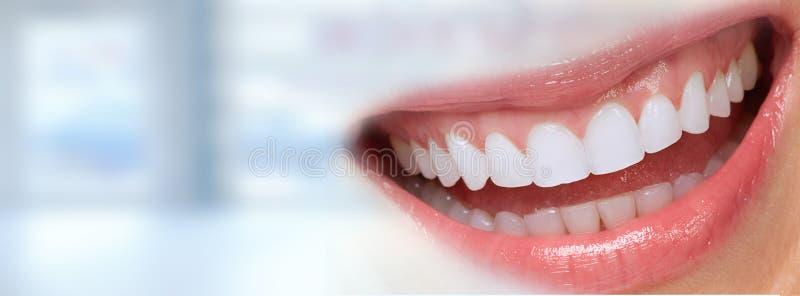 piękna kobieta uśmiech obraz stock