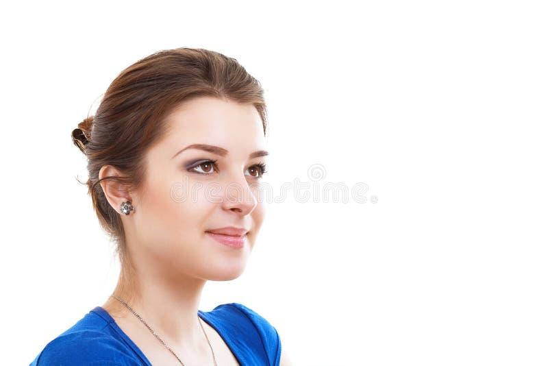 piękna kobieta uśmiechnięta zdjęcia royalty free