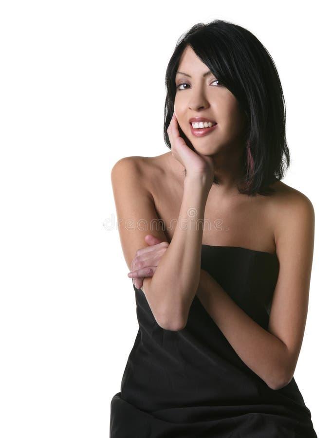 piękna kobieta uśmiechnięta latynoska. zdjęcia royalty free