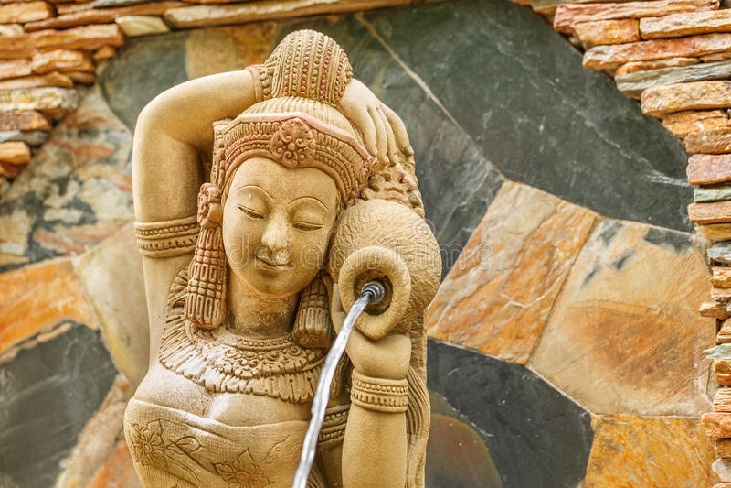 Piękna kobiety statua zdjęcie royalty free