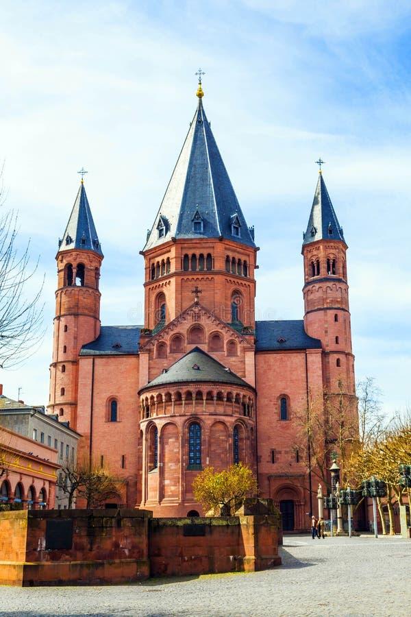 Piękna kopuła w Mainz fotografia stock