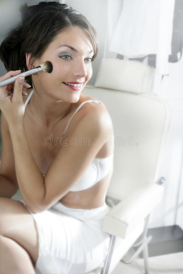 piękna kosmetyczna kobieta obraz royalty free