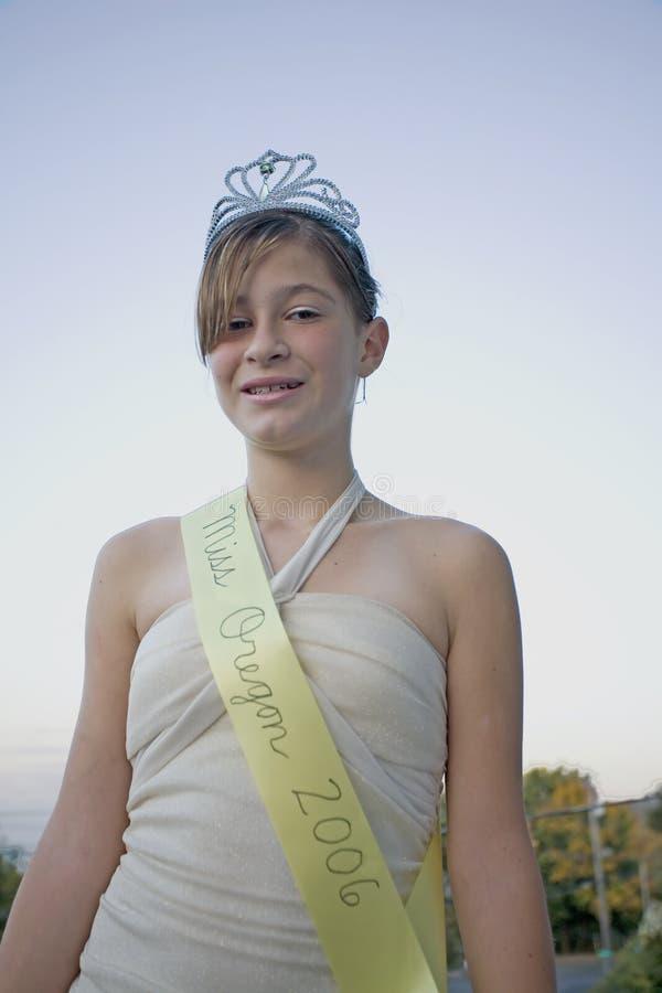 piękna królowo piękności zdjęcia royalty free