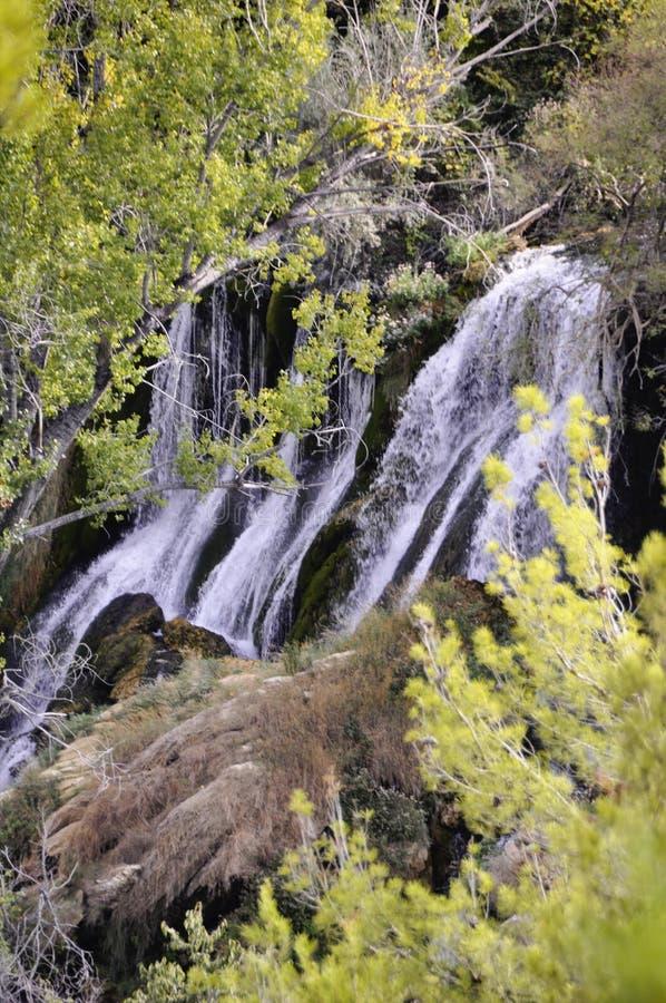 Piękna Kravica siklawa w Bośnia i Herzegovina popularnych - zdjęcie royalty free