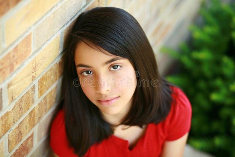 Piękna latynoska dziewczyna zdjęcie royalty free