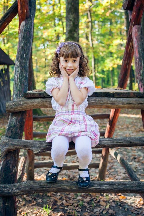 Piękna liitle dziewczyna obraz stock