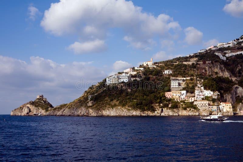 piękna linia brzegowa Italy południowy zdjęcia royalty free