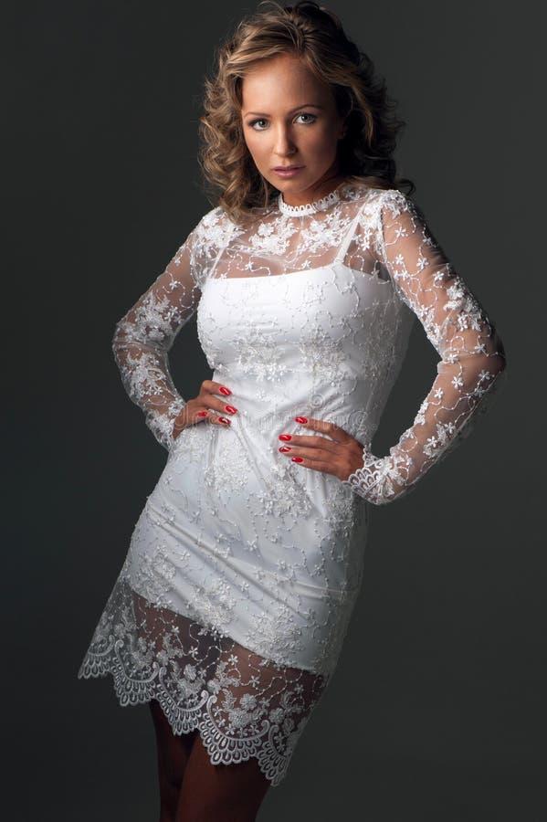piękna luksusowa kobieta zdjęcie stock