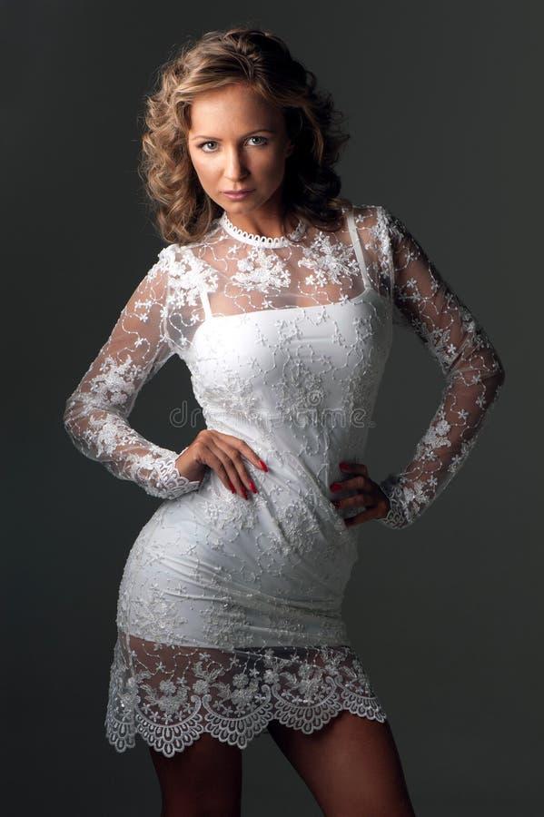 piękna luksusowa kobieta zdjęcie royalty free