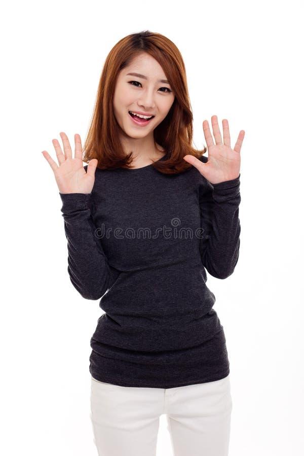 Piękna młoda Azjatycka dama fotografia royalty free