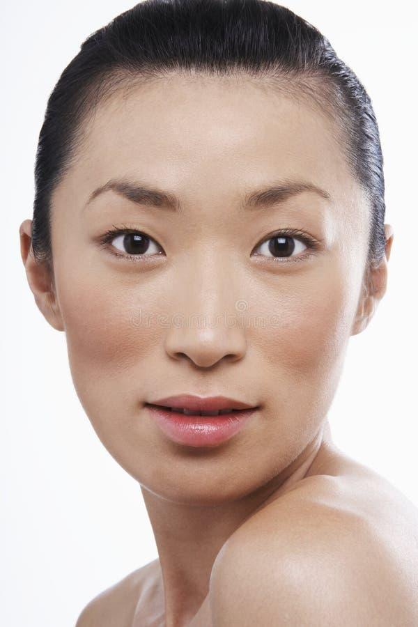 Piękna Młoda Azjatycka kobieta fotografia royalty free